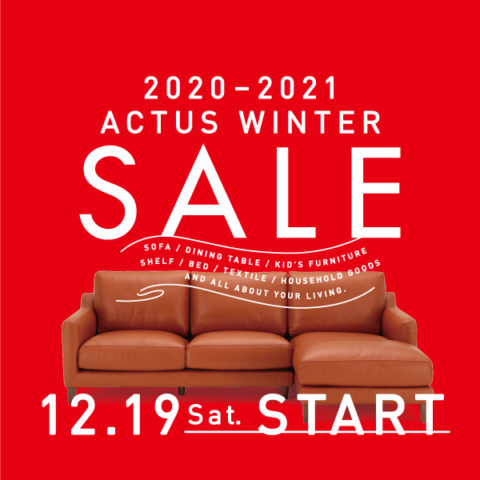 2020-2021 ACTUS WINTER SALE 12/19〜1/11